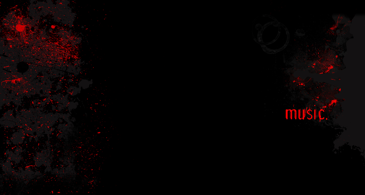 Red Music Twitter Backgrounds Red Music Twitter Themes 1450x775