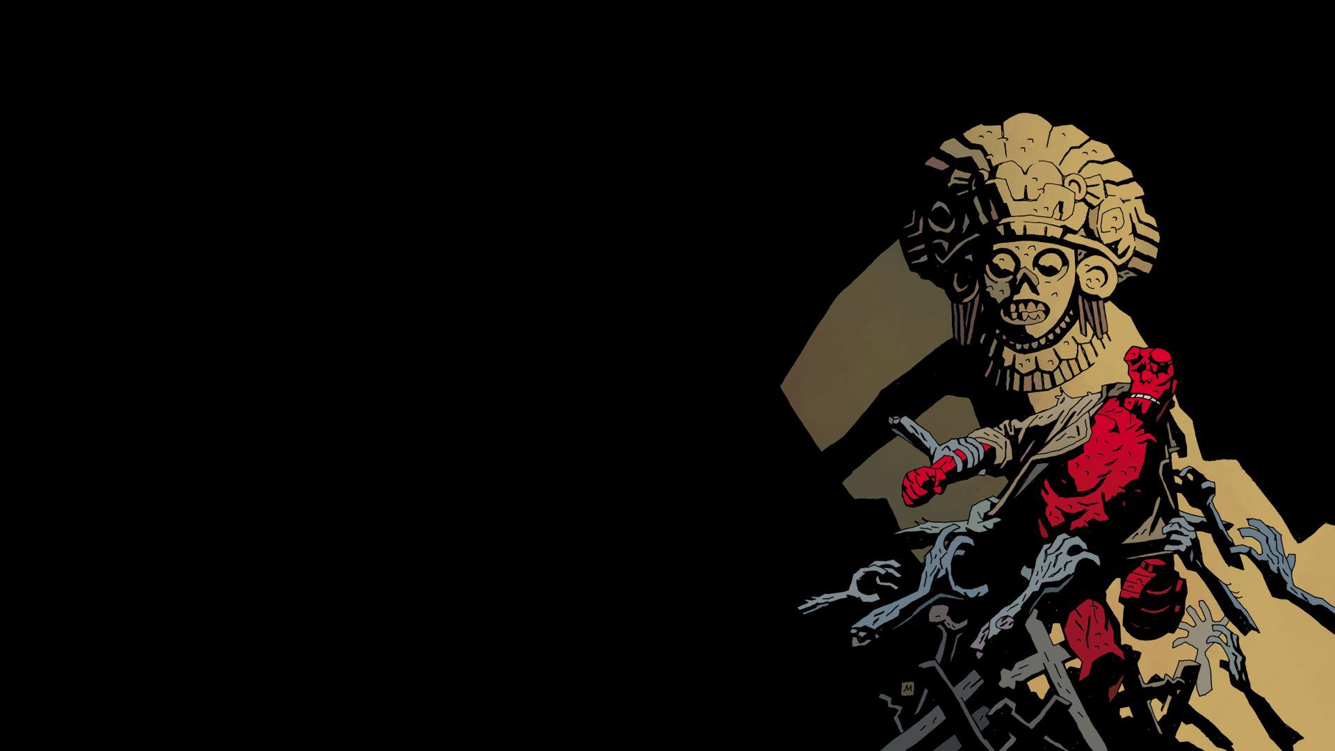 Comics   Hellboy Wallpaper 1920x1080