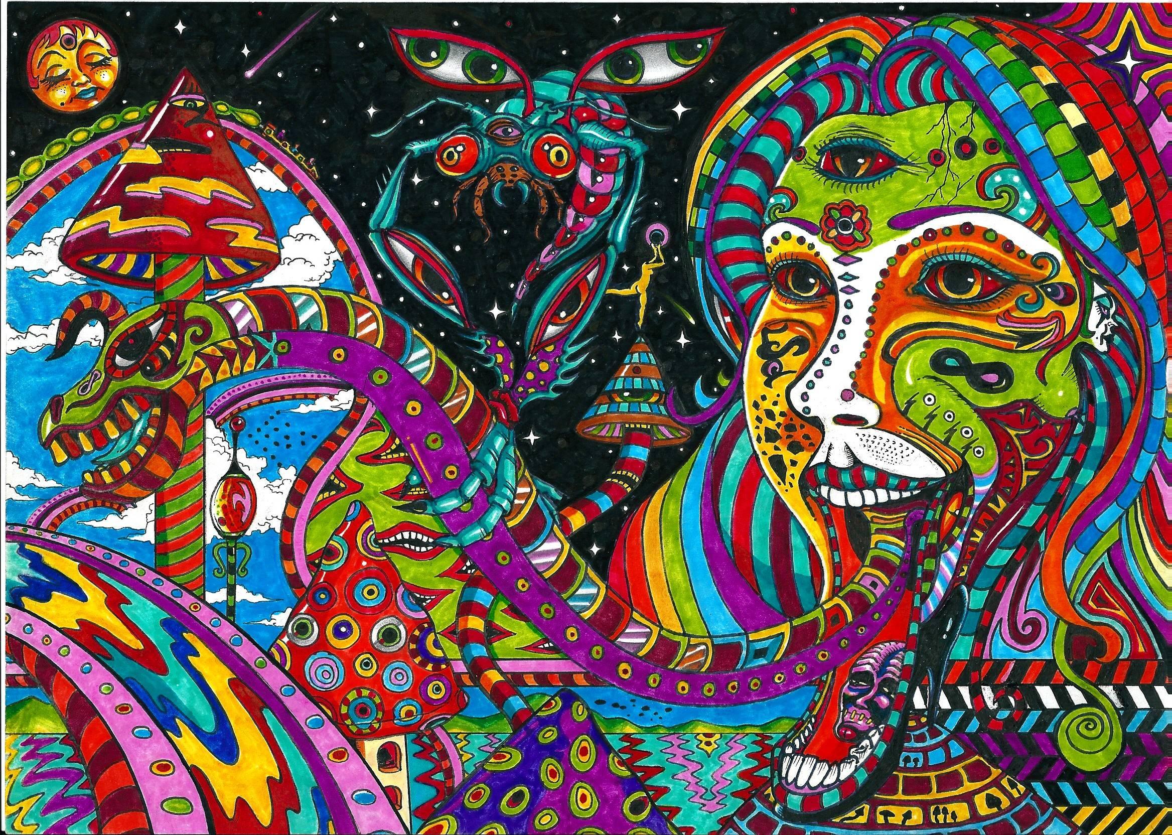 Acid Trip Wallpapers 2336x1664