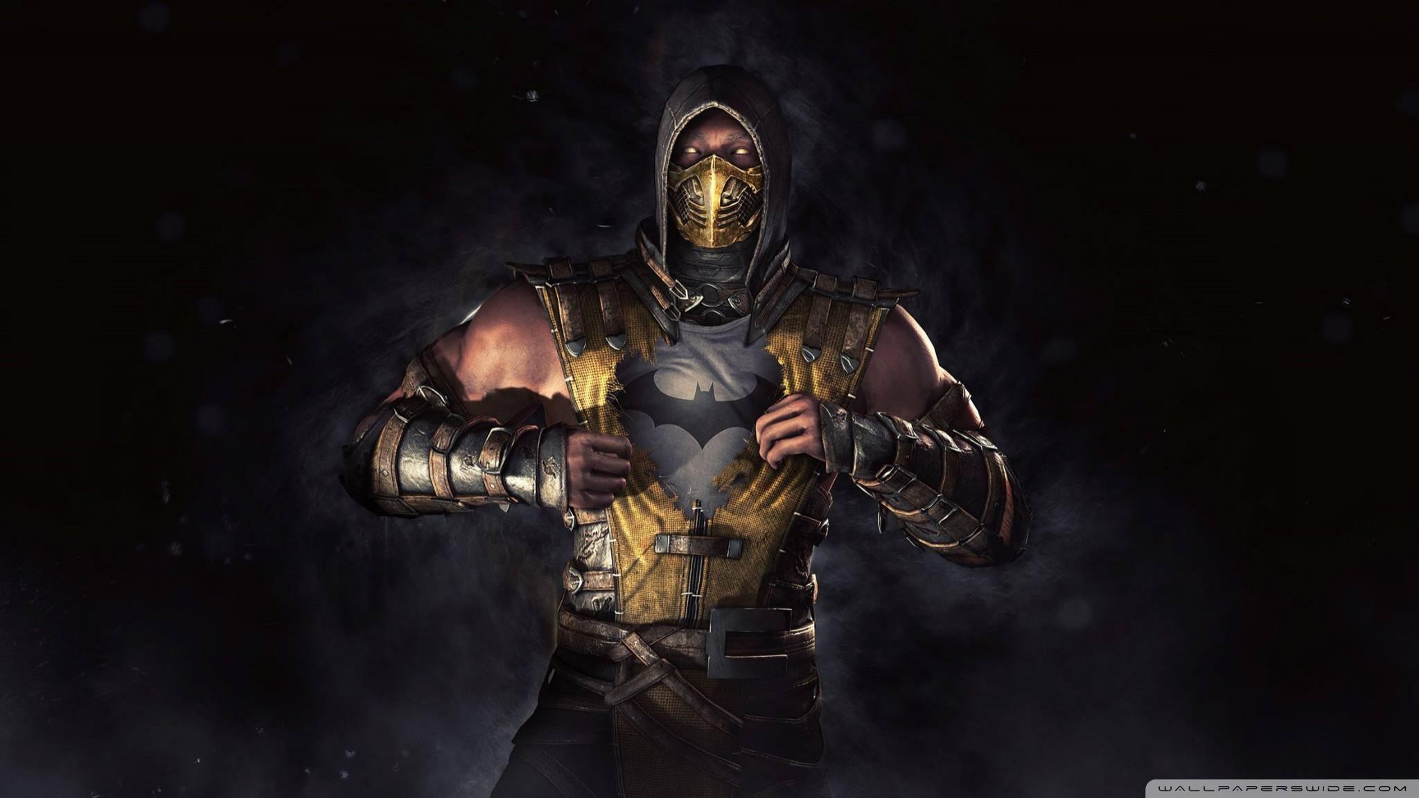 Mortal Kombat 9 Scorpion Wallpaper 72 images 2048x1152