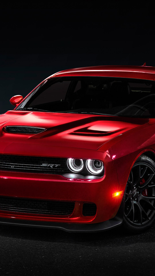 Dodge Challenger SRT Hellcat 2015 Wallpaper   iPhone Wallpapers 540x960