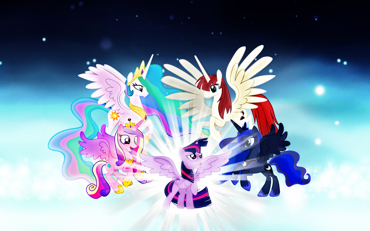 Free Download My Little Pony Princess Wallpaper By