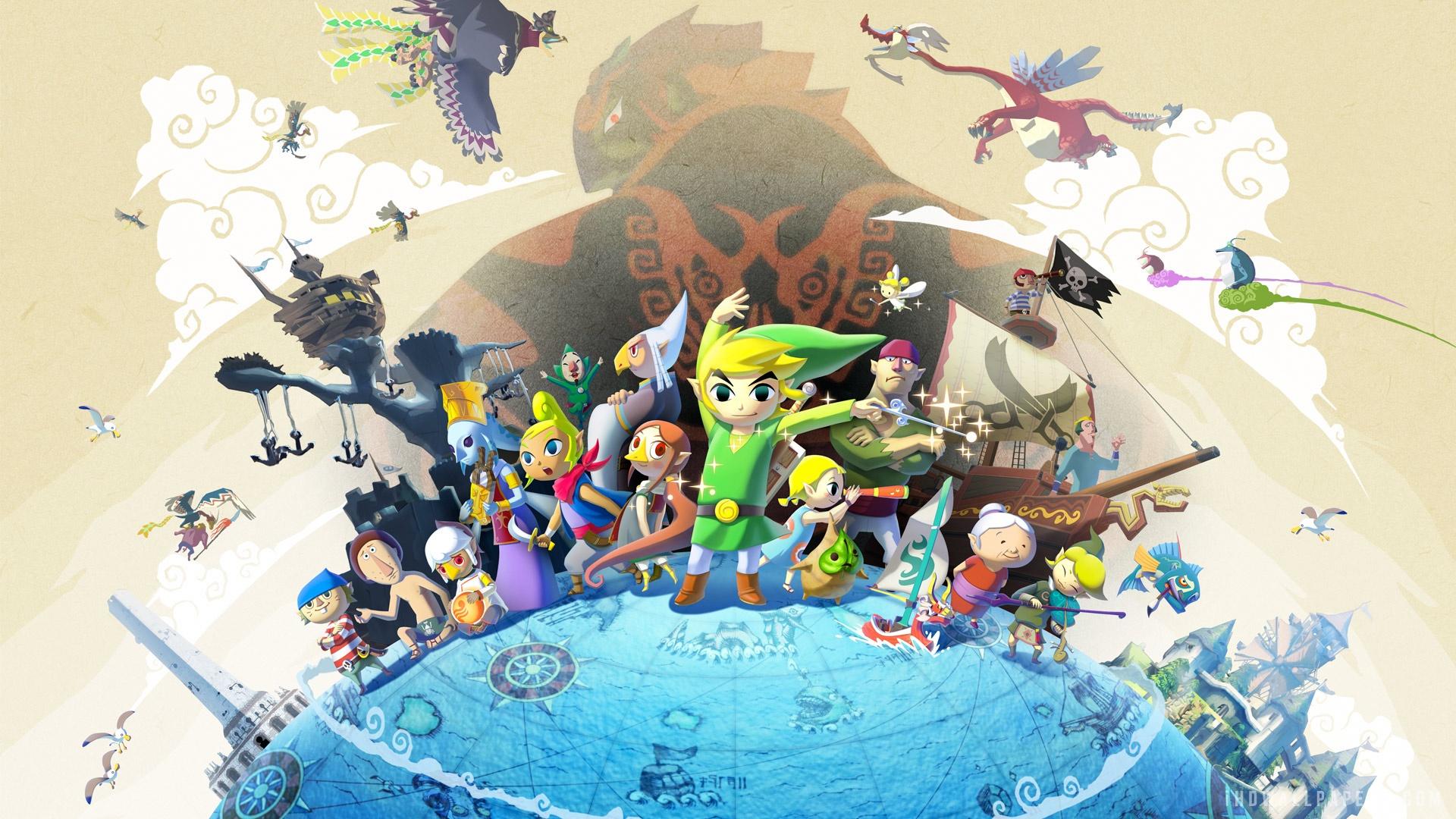 Legend Of Zelda Wind Waker Hd wallpaper   977965 1920x1080