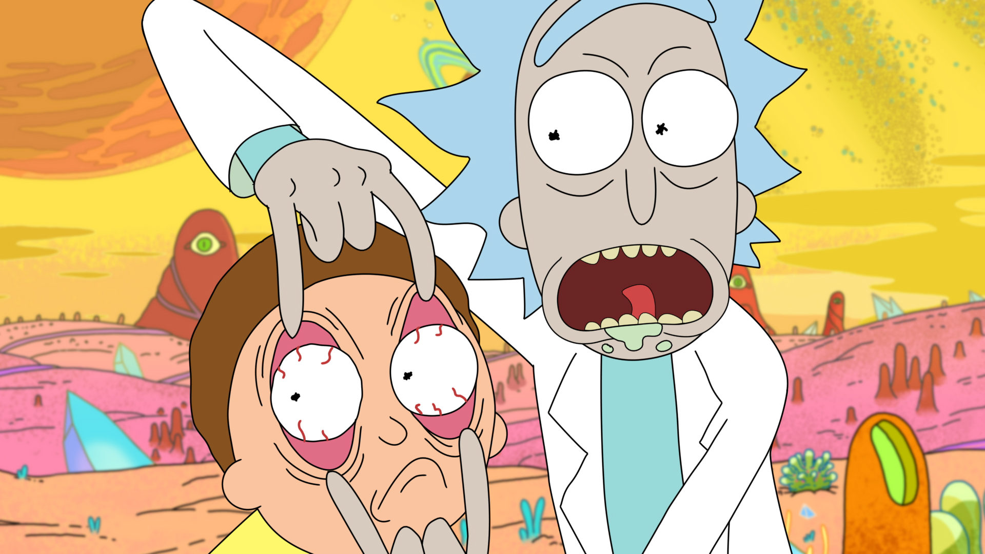 Rick and Morty Wallpaper HD 1920x1080