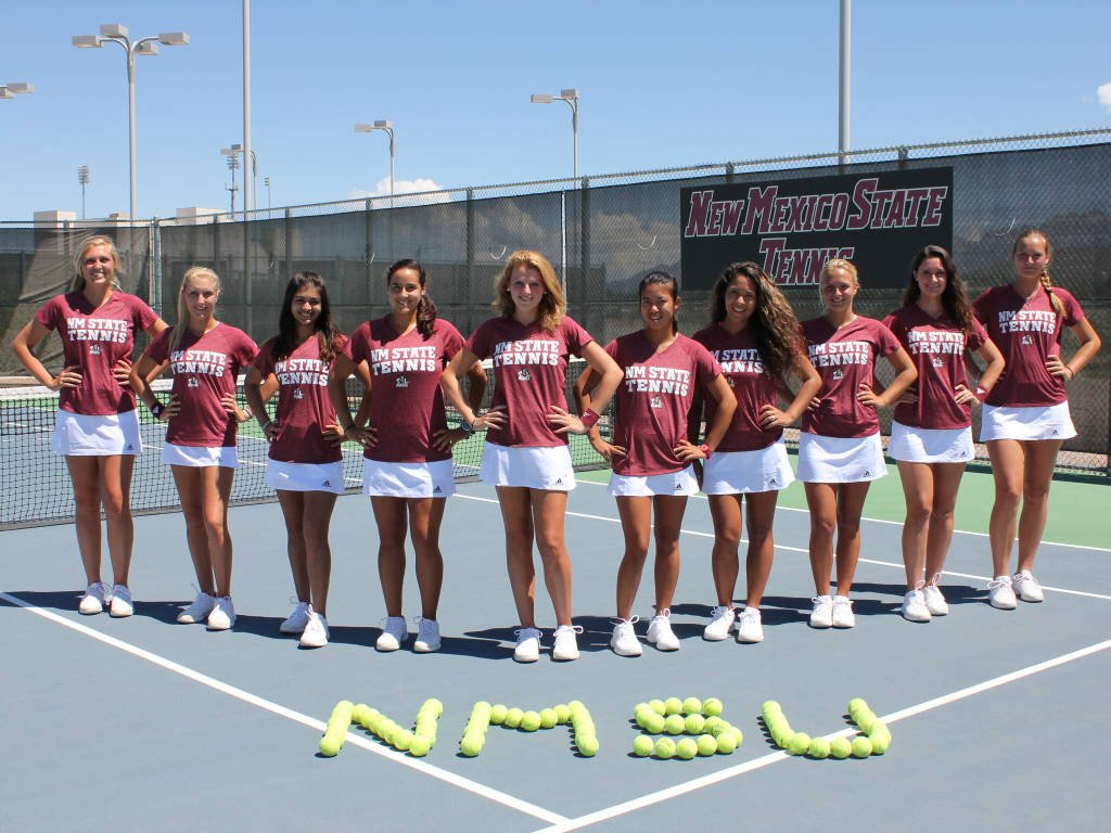New Mexico State Athletics   NM State to Host WAC Womens Tennis 1024x768