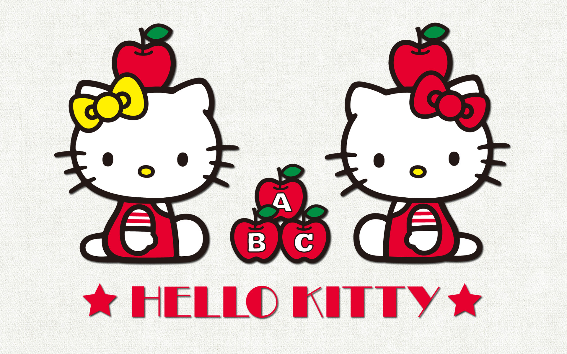 wallpapers screen savers kitty hello screensavers images 1920x1200