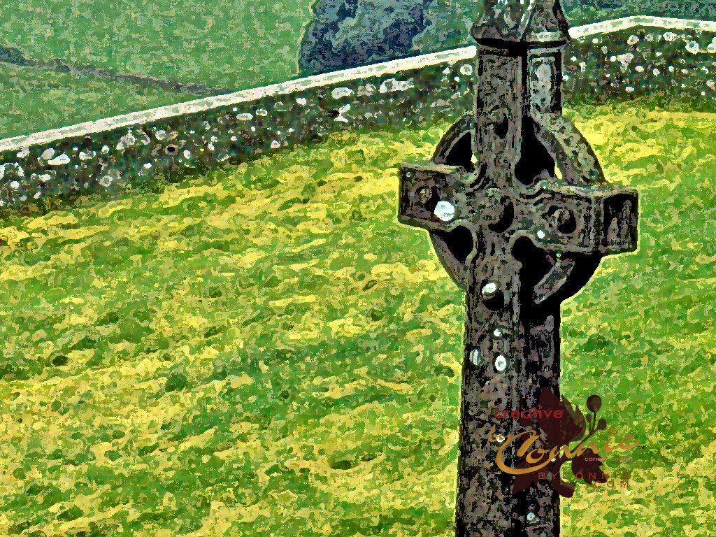Irish Celtic Cross Wallpaper Images Pictures   Becuo 1024x768