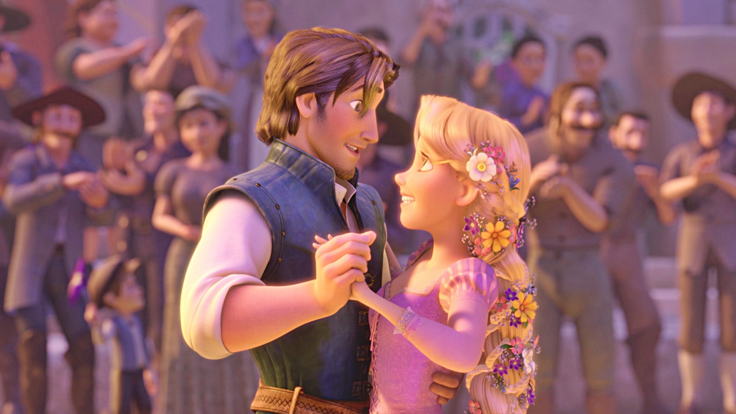 Flynn Rider And Rapunzel wallpaper   1404154 2560x1440