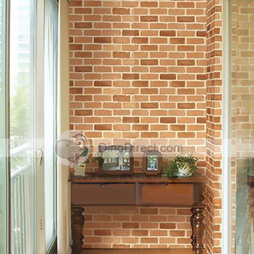 qty sanghoo home decor brick pattern removable pvc wall papers 500x500