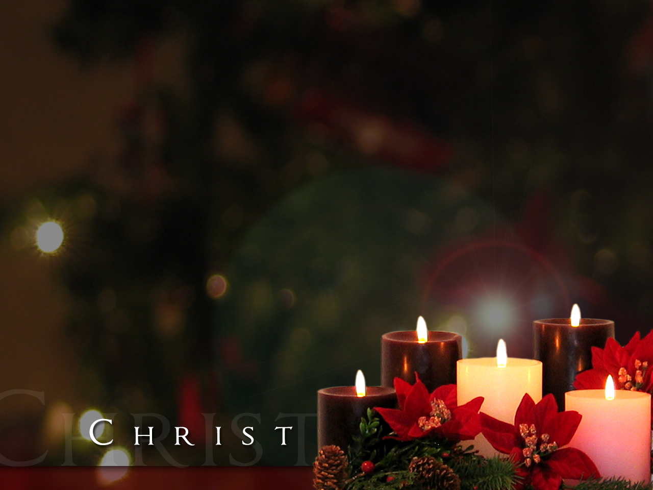Christmas Candle Wallpapers - WallpaperSafari