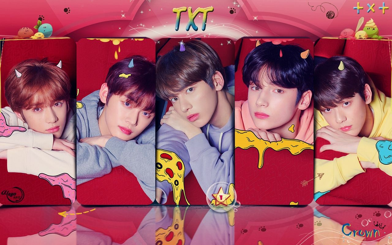 TXT CROWN WALLPAPER Pls make sure to follow me before u save 1280x800