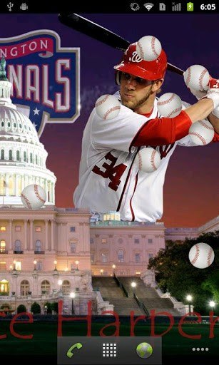 Bryce Harper Live Wallpaper App para Android 307x512