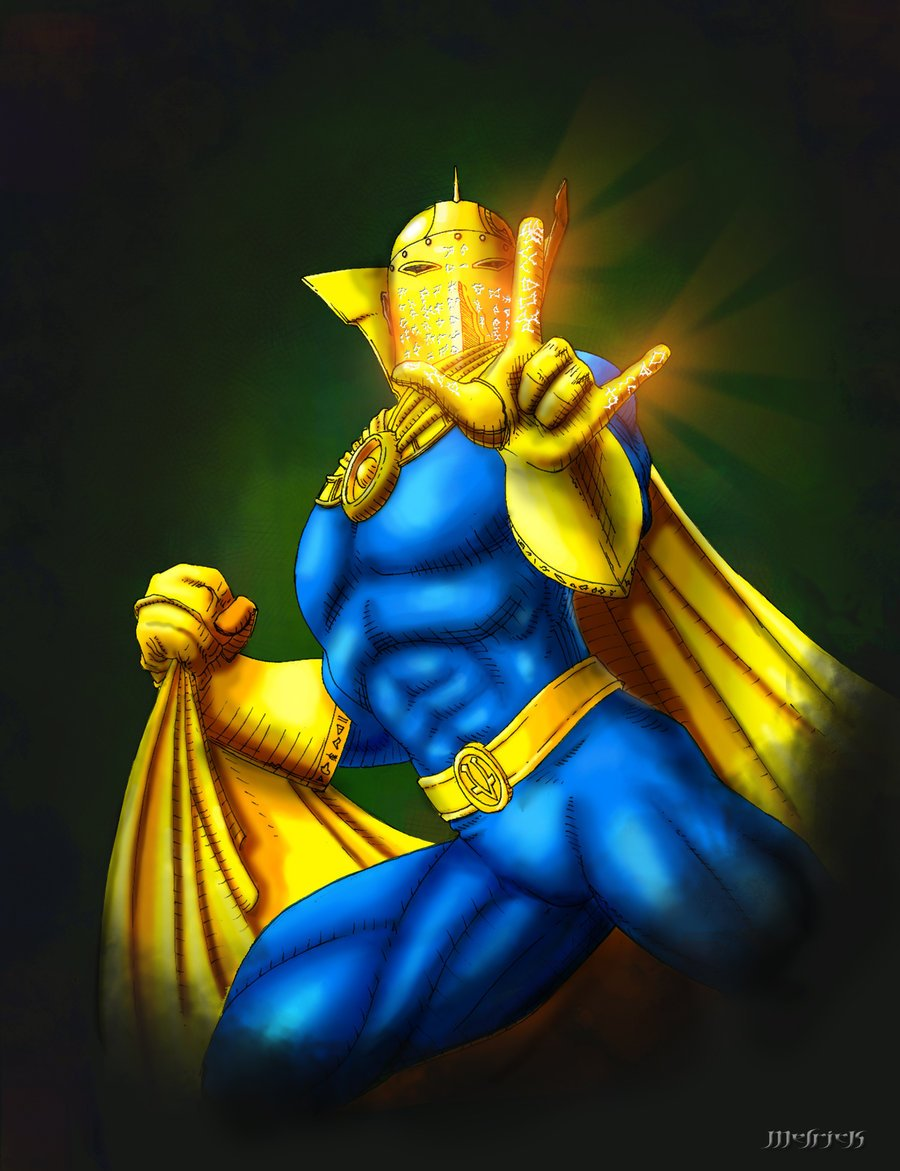 Dr Fate by Melrick2 900x1171