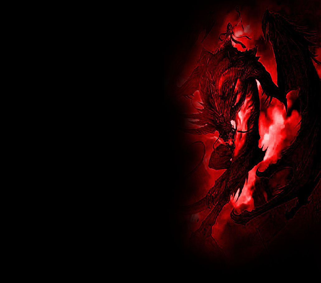 Free Download Black And Red Dragon Wallpapers Red Dragon 1030x908