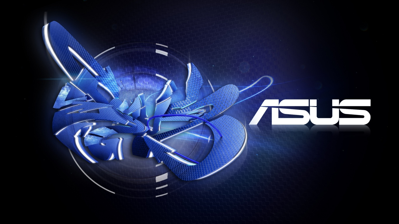 1366x768 ASUS desktop PC and Mac wallpaper 1366x768