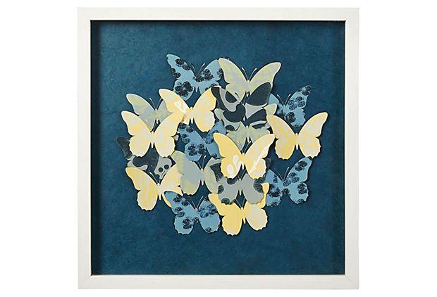 one kings lane artist on exhibit wallpaper butterfly washi paper ii 620x422