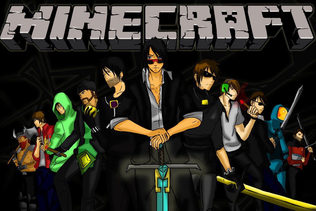 download Minecraft Youtubers Wallpaper Images Pictures Becuo 1024x683