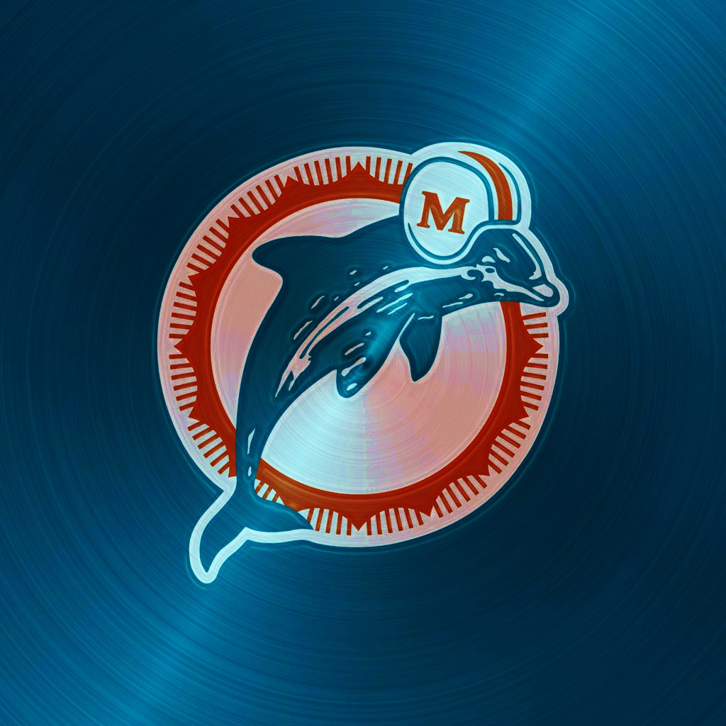 miami dolphins rough ipad 1024emsteeljpg phone wallpaper by 1024x1024