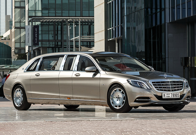 2016 Mercedes Maybach S 600 Pullman   specifications 800x550