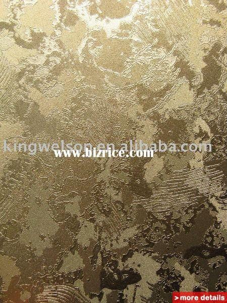 metallic wallpaper/metallic wallcovering/gold foil wallpaper / China ...