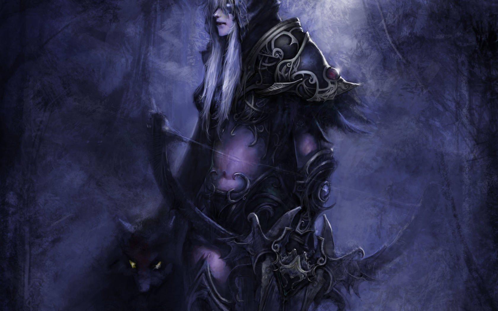 video games World of Warcraft Sylvanas Windrunner 1680x1050
