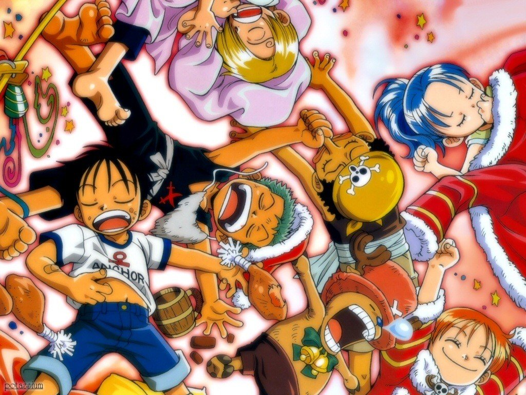 One Piece Christmas After Party 0009 HD Wallpaper 1024x768