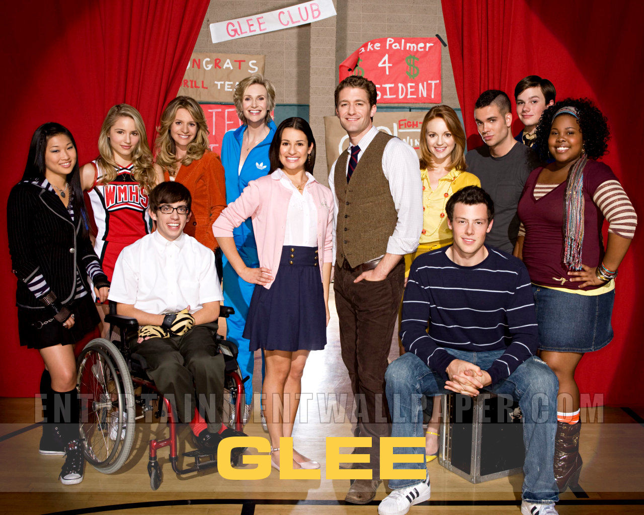 tv show glee wallpaper 20017635 size 1280x1024 more glee wallpaper 1280x1024