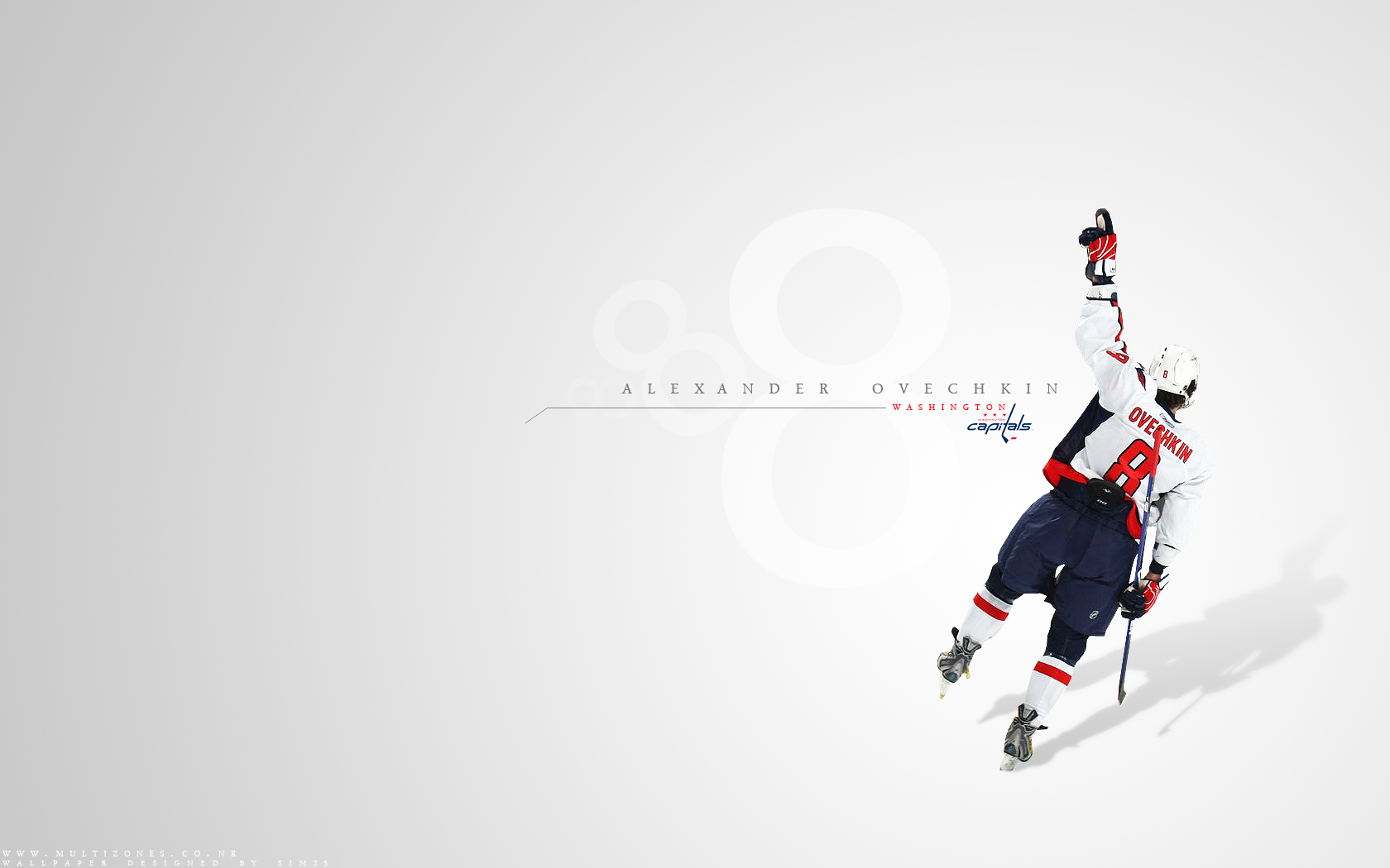 Alexander Ovechkin NHL Hockey Washington Capitals wallpaper background 1680x1050