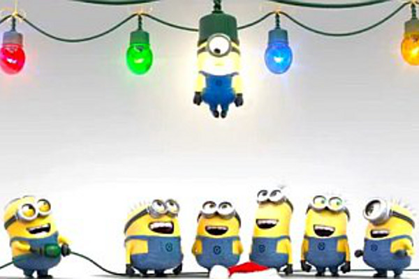Funny Minion Merry Christmas Wallpapers Sayings: Minion Christmas Wallpaper