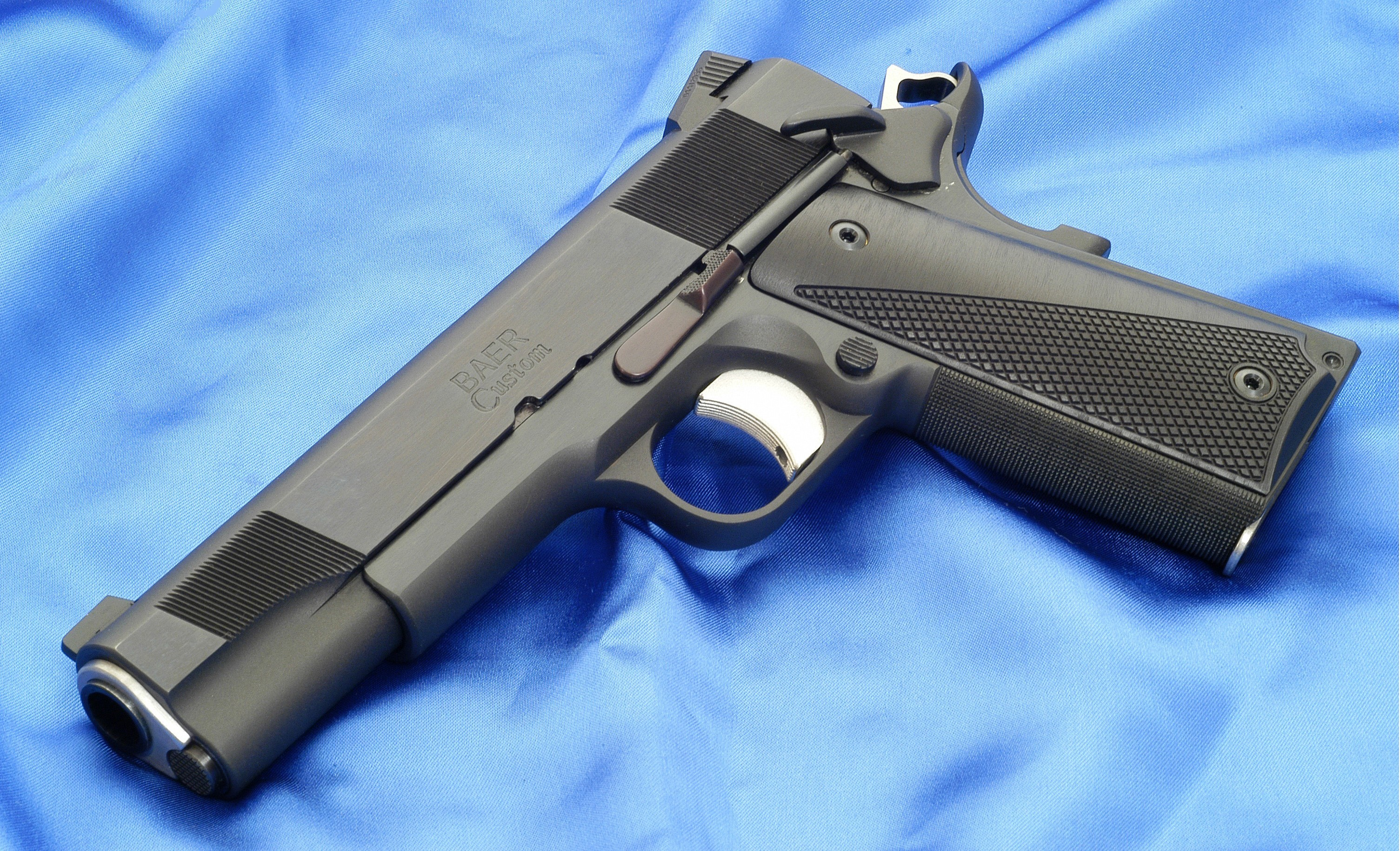 colt m1911 baer custom gun wallpaper colt m1911 gun guns black 3010x1831