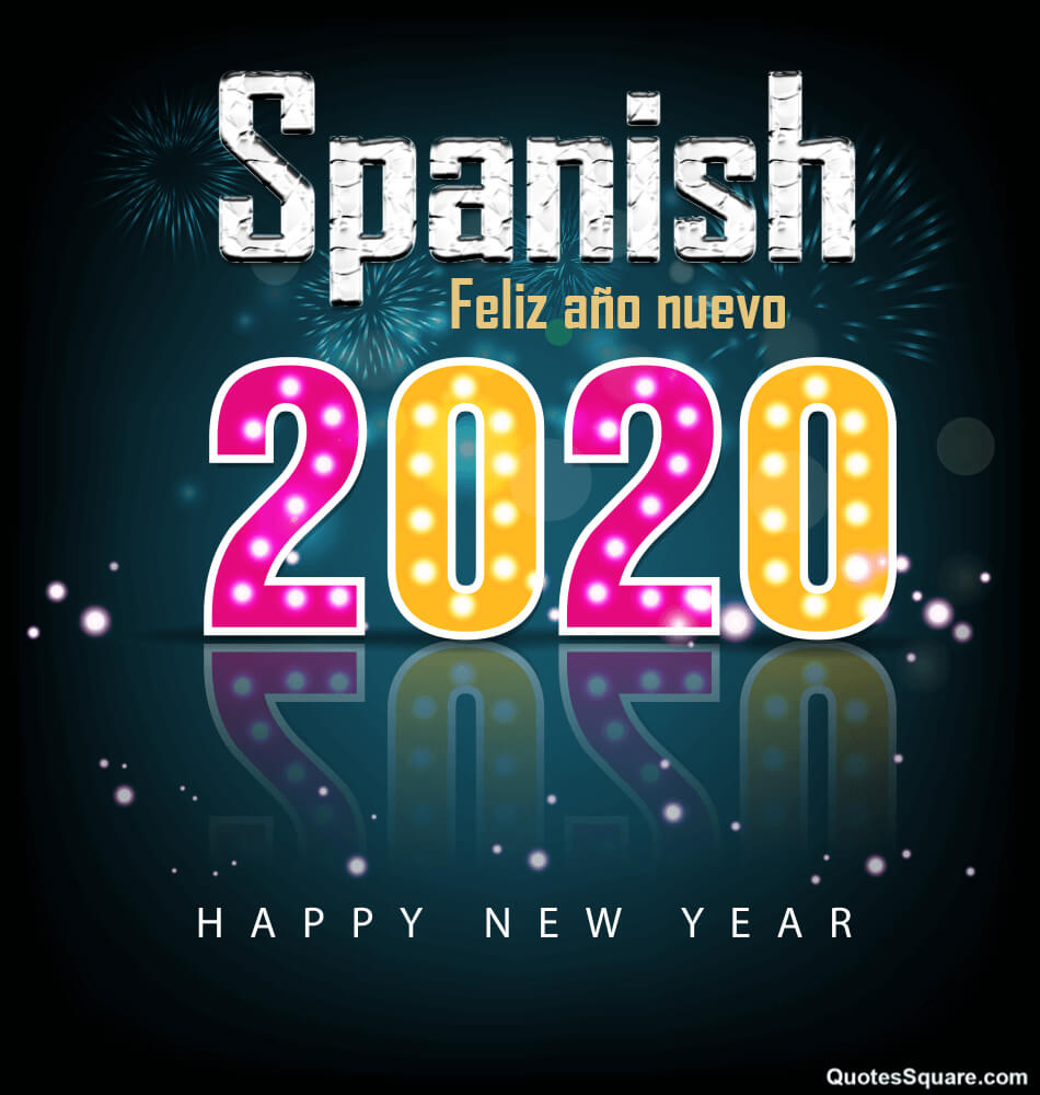 Happy New Year Quotes in Spanish 2021 with English Translations 950x1000