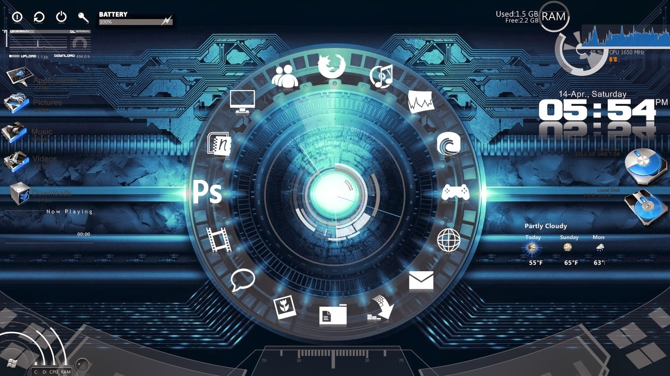 hacker themes for windows 7 ultimate free download