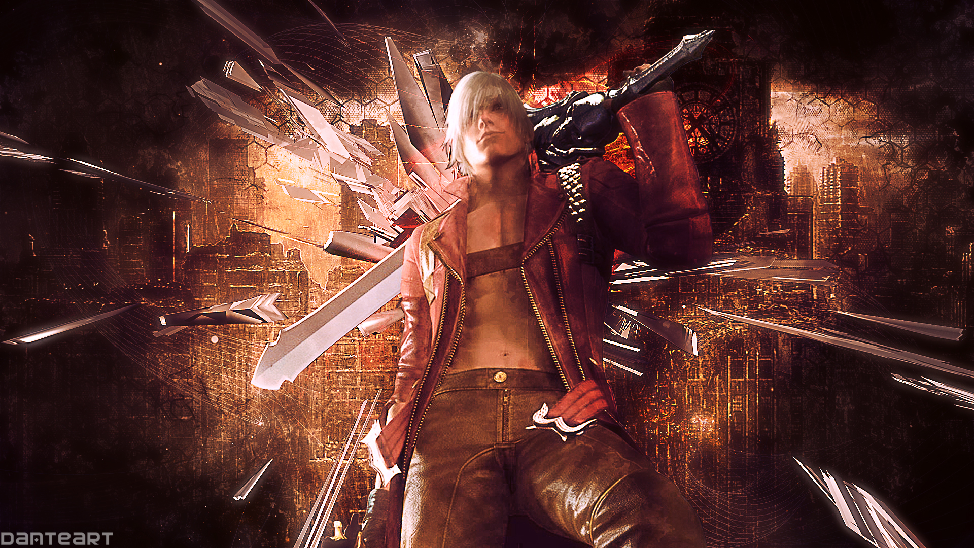 Free Download Devil May Cry 3 Dante Wallpaper By