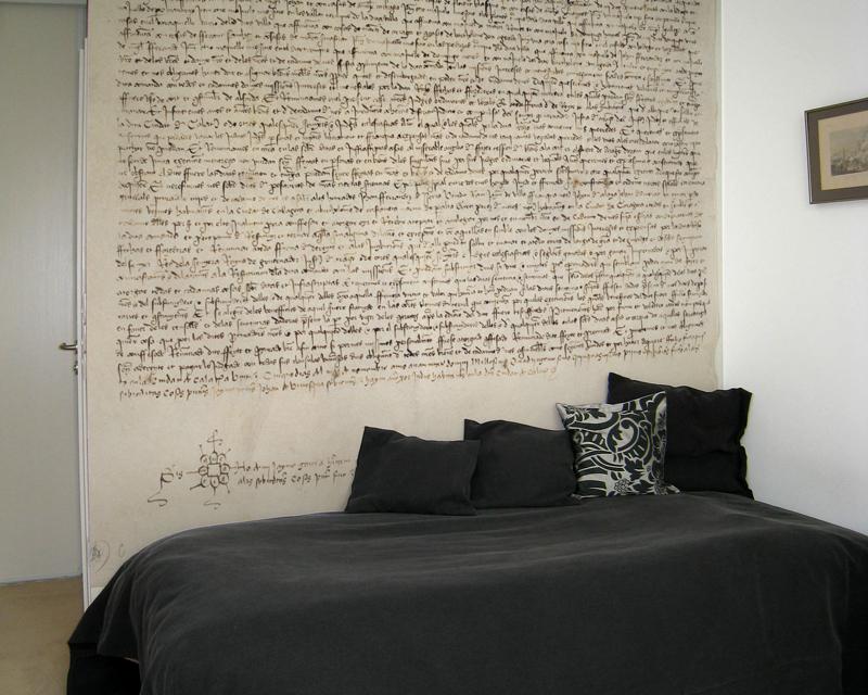 Renaissance Manuscript  Wallpaper mural 800x640