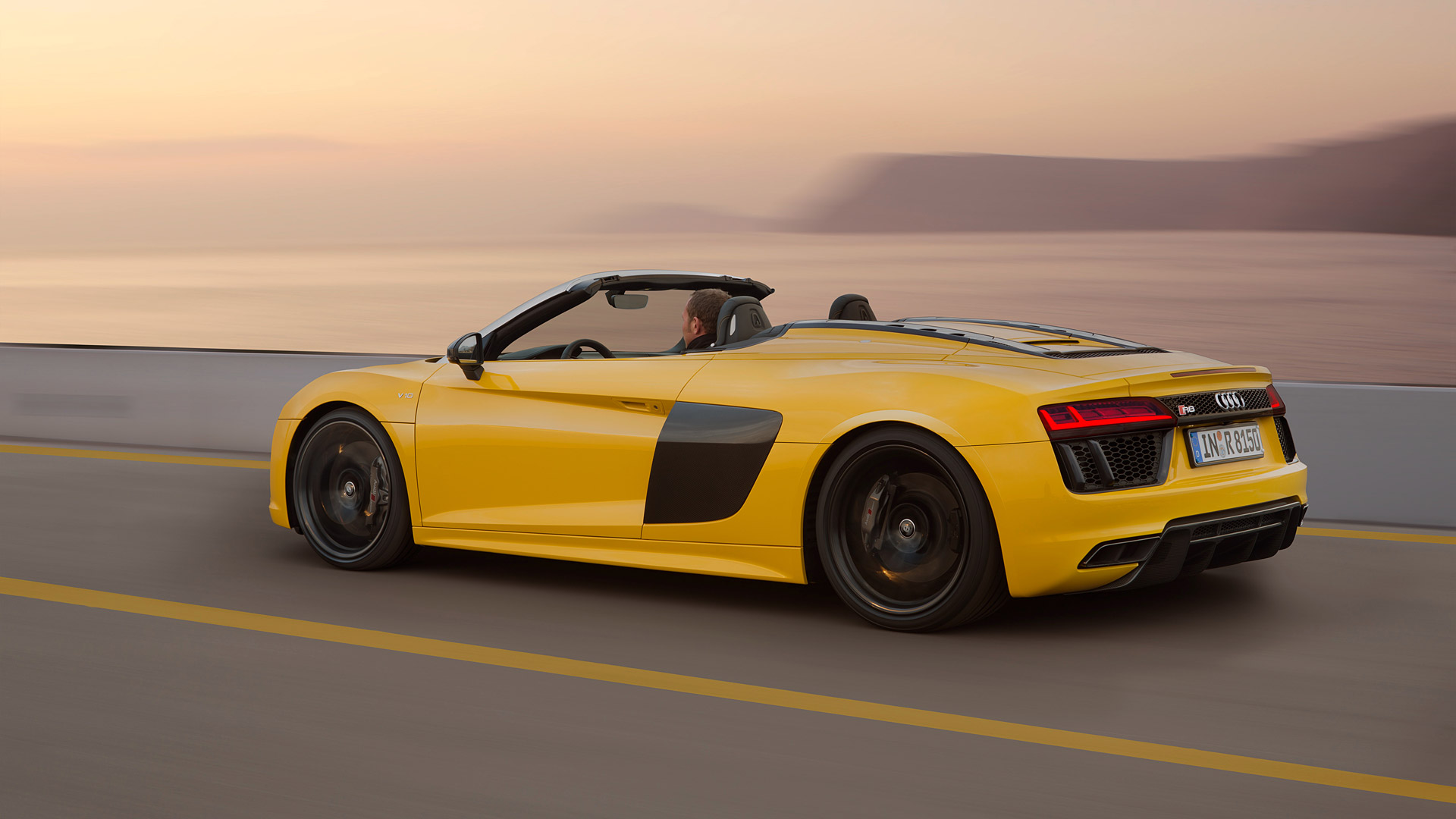 2017 Audi R8 Spyder V10 Wallpapers HD Images   WSupercars 1920x1080