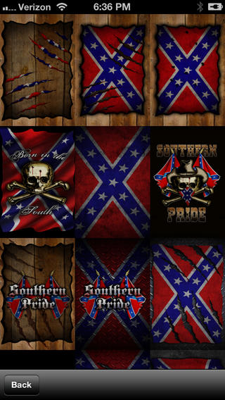 Southern Pride Rebel Flag Wallpaper on the App Store on iTunes 320x568