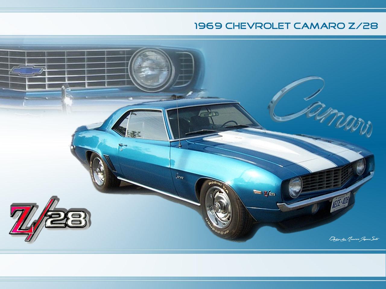 1969 Chevrolet Camaro Z28 by orishaz 1280x960