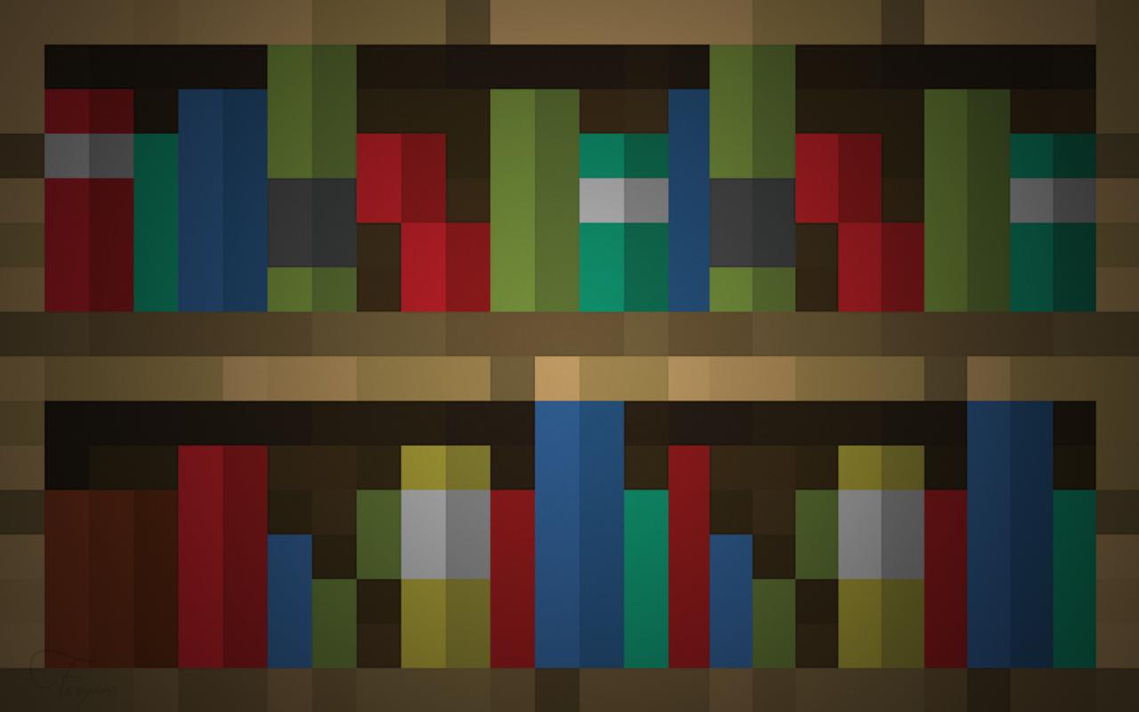 Free Download Bookshelf Wallpaper By Fivezero09 Fan Art