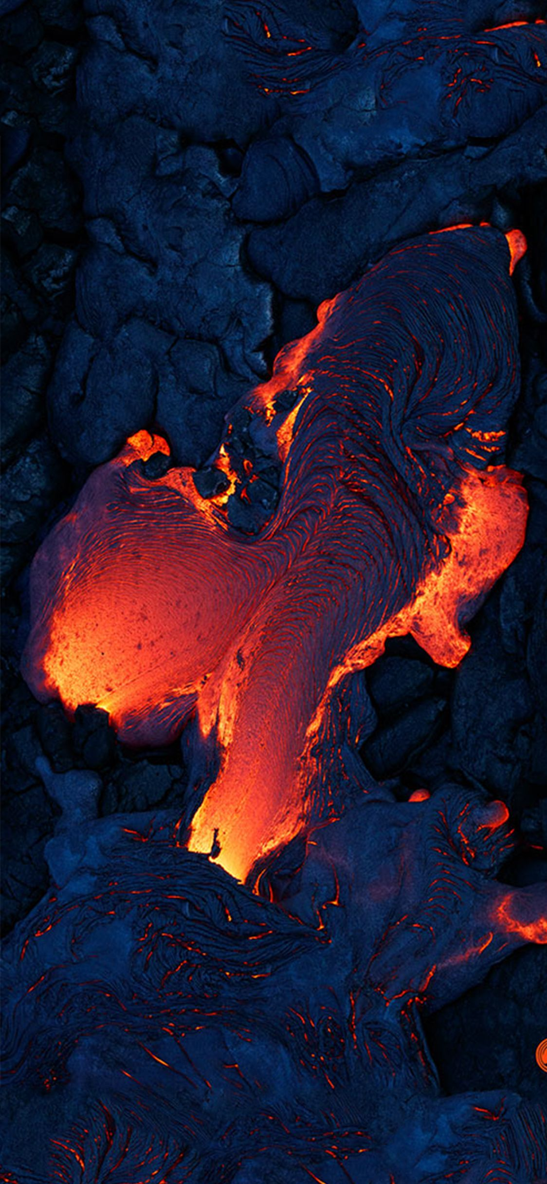 Best volcano wallpaper for iPhone x iOSwall inspration in 2019 1124x2432