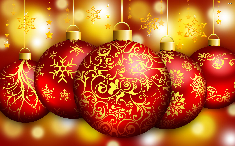 christmas ornaments wallpaper 8026 - photo #12