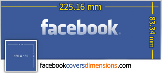 What the Facebook Cover Dimensions in mm 541x246