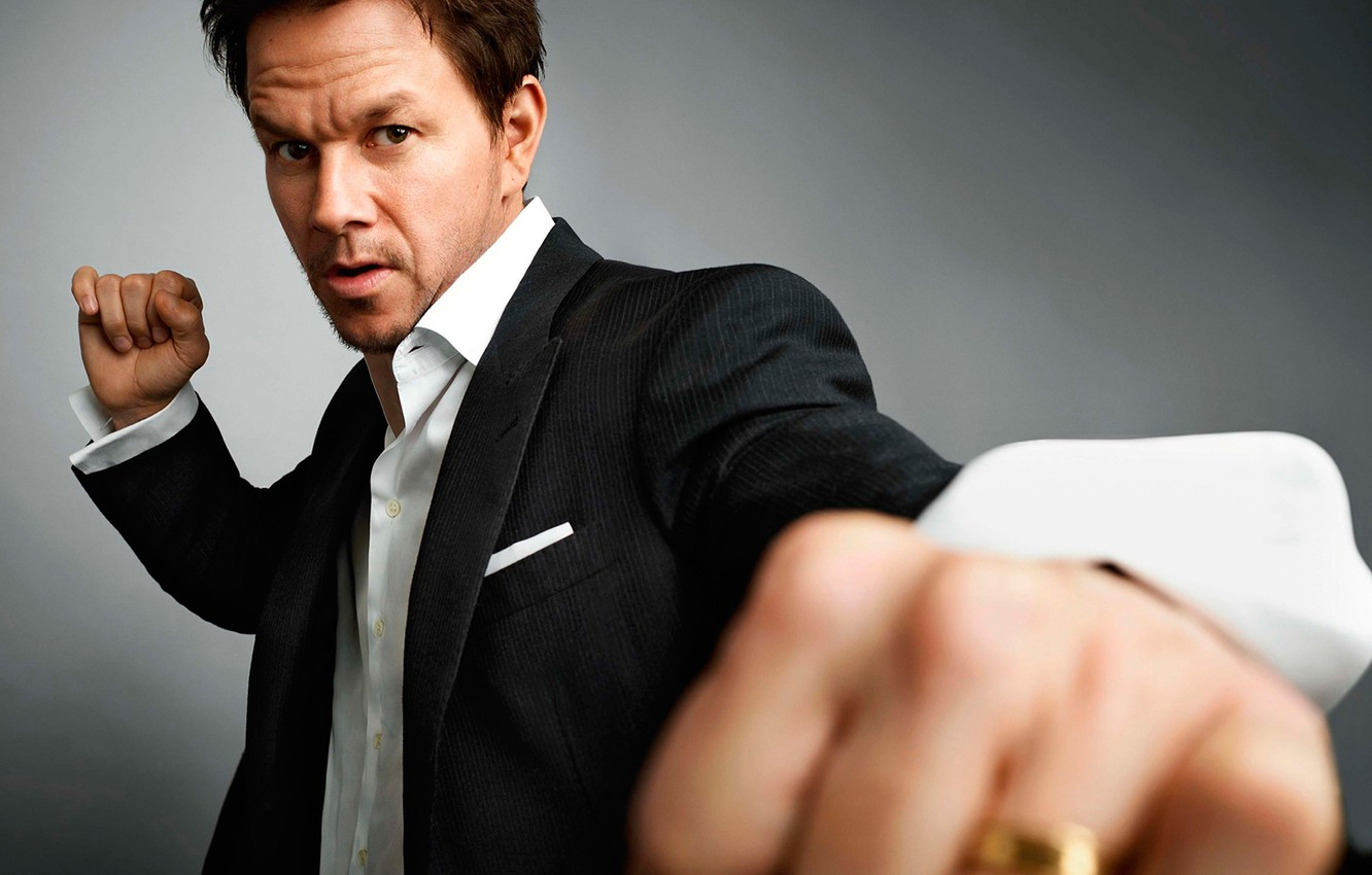Wallpaper photoshoot Mark Wahlberg GQ magazine images for 1332x850