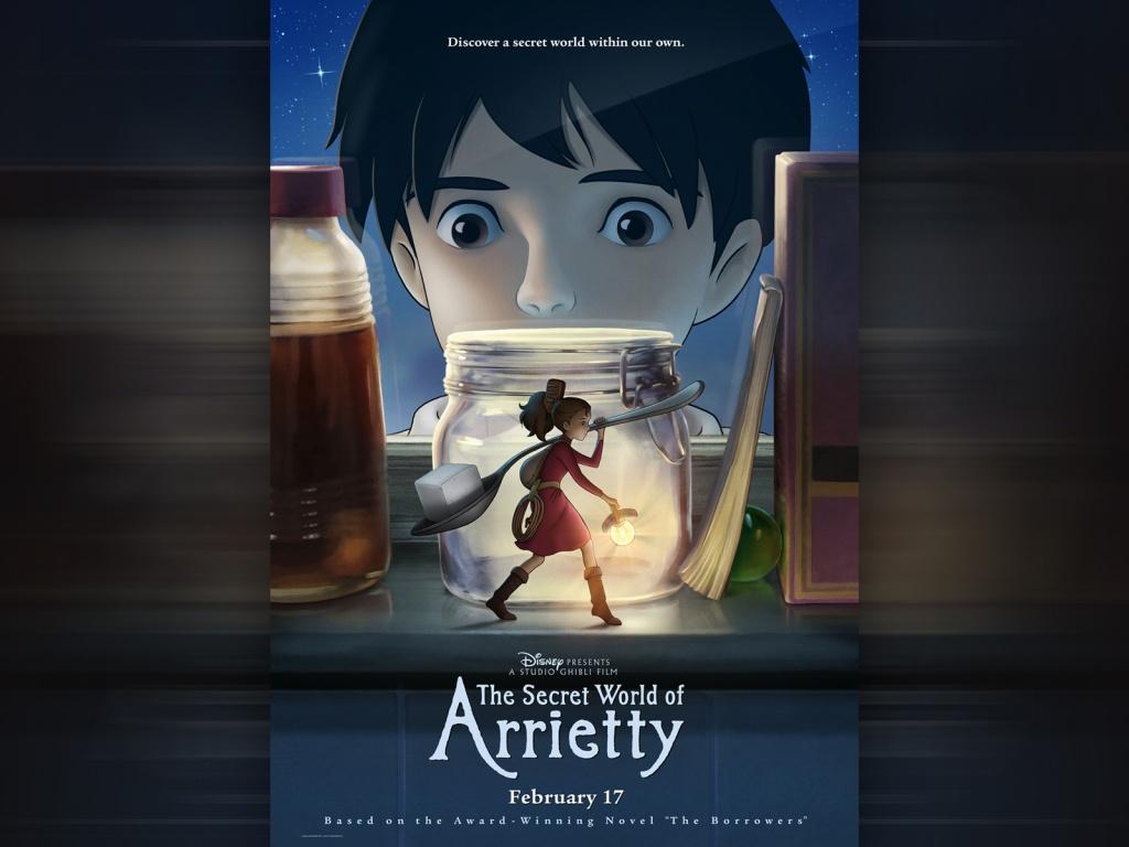 The Secret World Of Arrietty Wallpaper   9927 1024x768