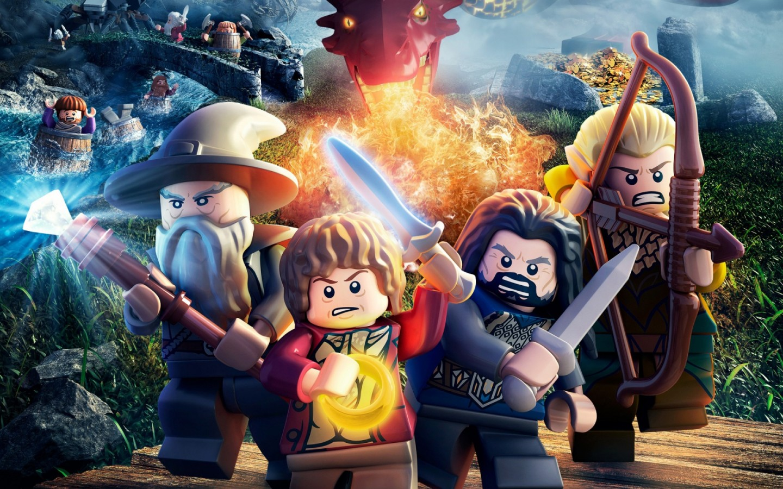 lego the hobbit game Desktop HD Wallpaper 1440x900