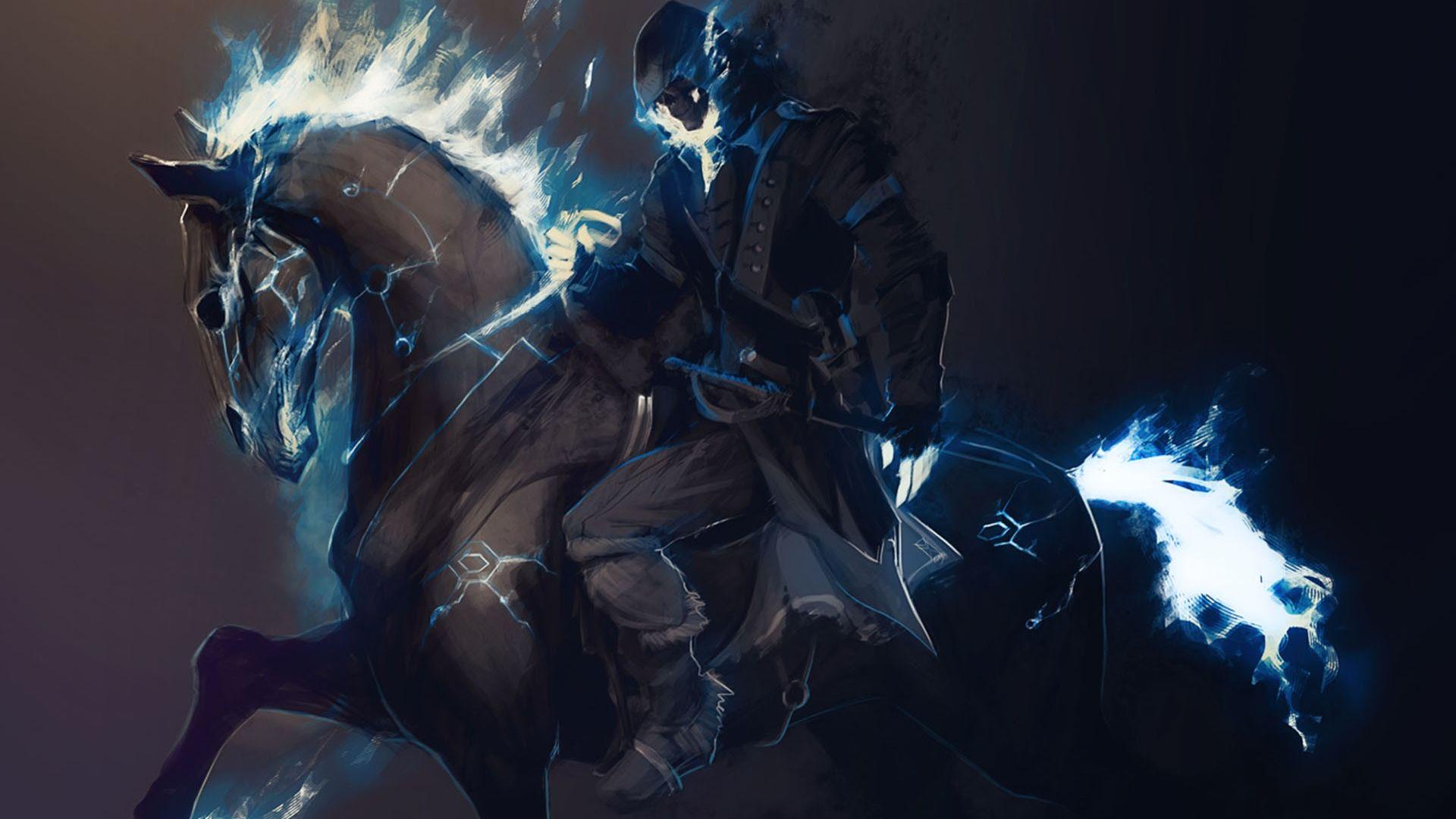 Swords and Sorcery Horseback Riding HD Wallpaper FullHDWpp 1920x1080