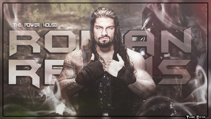 Roman Reigns WallPaper by TahmidEdition 900x506