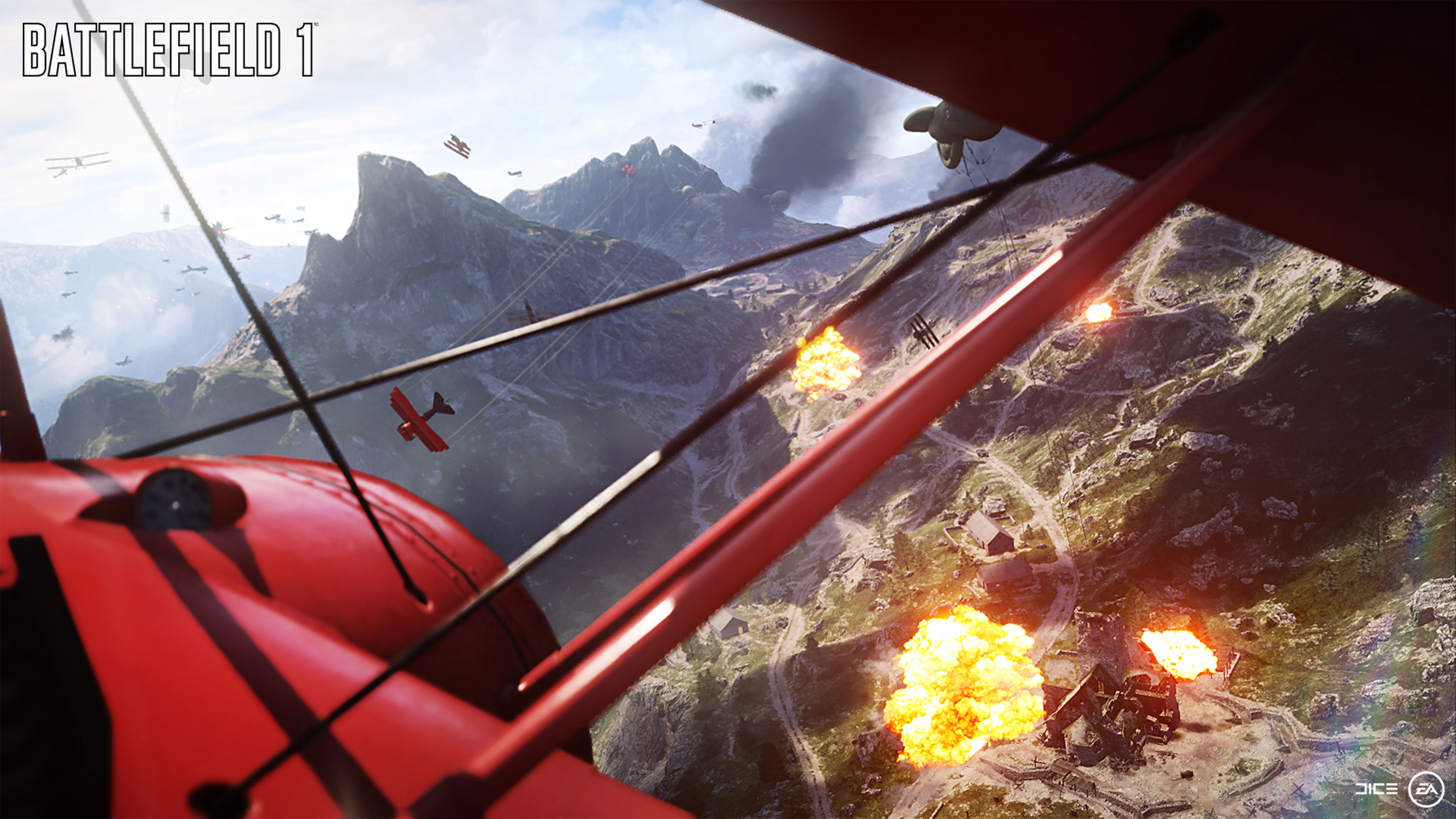 Battlefield 1 4K Wallpaper 3840x2160