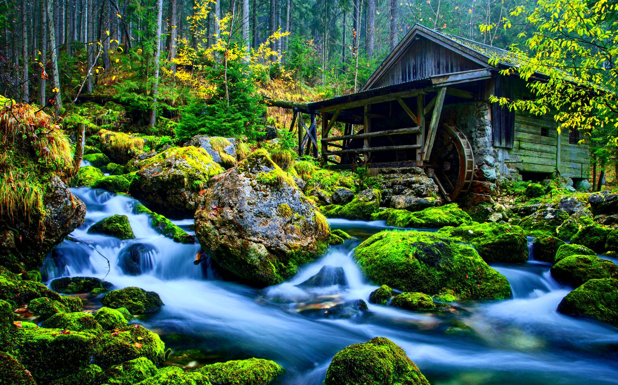 Abstract Water Landscape Nature 12137 Wallpaper Wallpaper hd 2000x1247