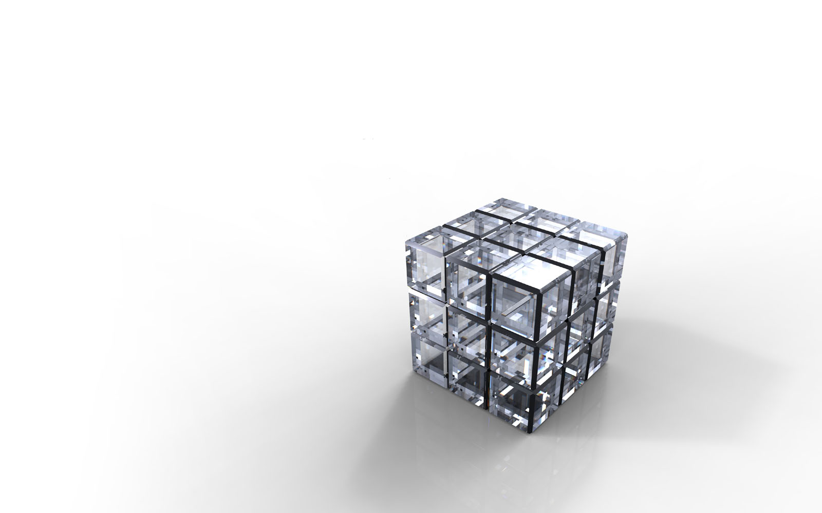 wallpapers Crystal Cube Wallpapers 1600x1000