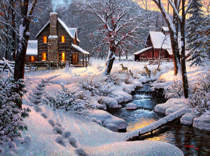 Warm and Cozy by Mark Keathl wallpaper   ForWallpapercom 817x606